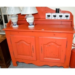 As new red dresser imaculate  condition