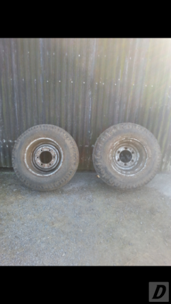 Baler Or Trailer Wheels Fit Any Six Stud Axel 15.0/55-17