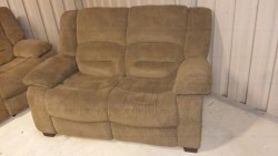 2 seater sofa and one recliner chair for sale