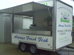fish or butcher trailer