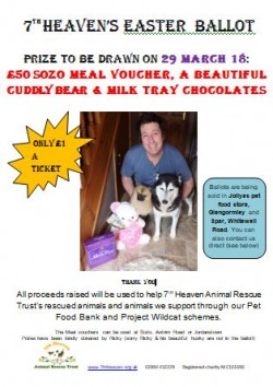 7th Heaven Animal Rescue Trust's Easter Ballot