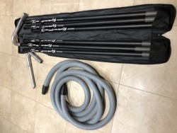 Gutter Vacuuming System for reach of up to 11 metres