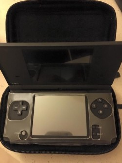 Nintendo Dsi console with mario case and charger