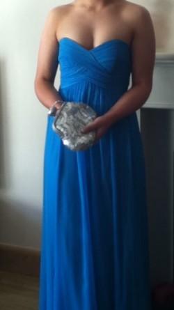 Coast aqua blue formal/bridesmaid dress