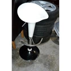 As new white bar stool