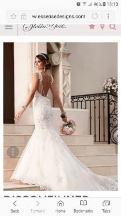 **Price Drop**   Stella York Wedding Dress