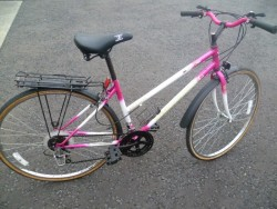 Ladies hybrid bicycle for sale