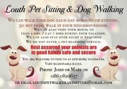 Louth Pet Sitting & Dog Walking