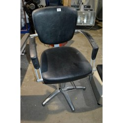 As new barbers chair