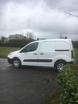 2013 Peugeot partner van