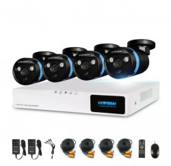 * DIY HD 4 Camera CCTV System with Remote Viewing*
