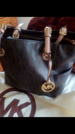 Michael kors bag with original dust cover