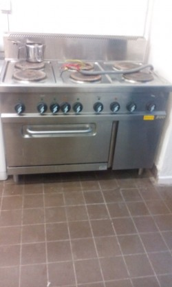 Catering cooker as new