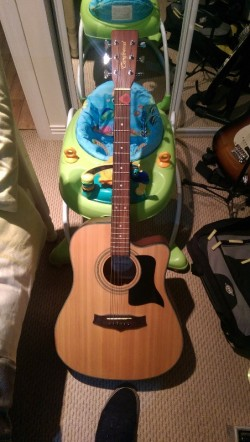 Semi acoustic guitar for sale