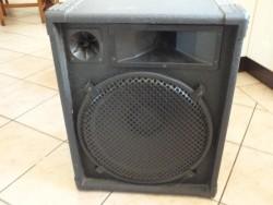 custom sound 200 watt pa speaker