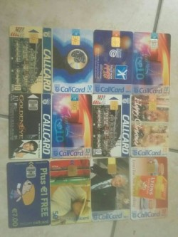 12 callcards. free postage