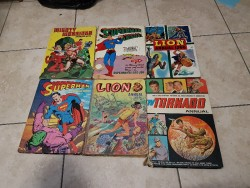 6 collectors items annuals