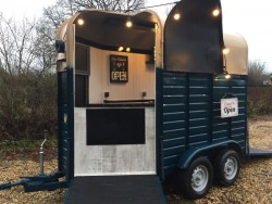 Horse Box Catering Rustic Vintage