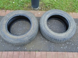 2 PART WORN TYRES with EXCELLENT TREAD SIZE 235/65 R17 108H