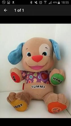 Singing teddy