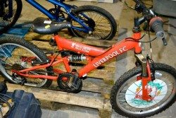Child's Liverpool bike imaculate condition