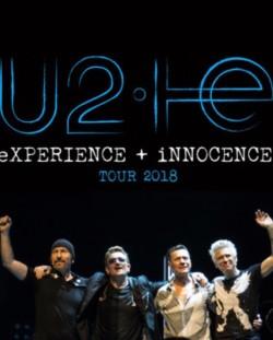 X2 U2 Concert Tickets for Dublin 10-11-18