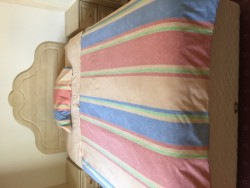 Double bed.