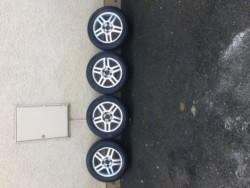 16 inch Ford Focus wheel