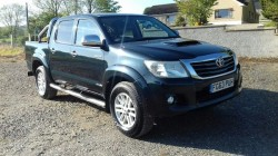 TOYOTA HILUX 3.0 INVINCIBLE SAT NAV LEATHER