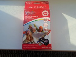 GLOSSY PHOTO PAPER, 100 SHEETS, 10 X 15 CM FOR INKJET PRINTERS, BRAND NEW