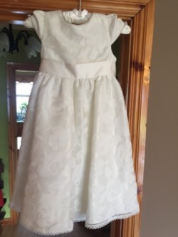 Paul Costelloe Flowergirl dress 4yrs and 7yrs (Ivory)