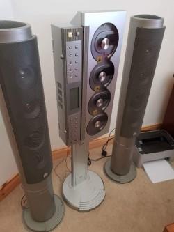 Music C D HiFi system
