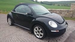 Vw beetle convertible 1.9tdi