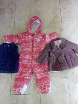 5 Girls coats 9-12 months