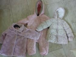 3 Girl's coats 12-18 months.