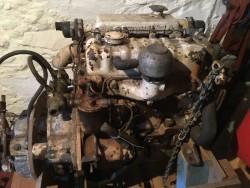 PERKINS 4107 MARINE DIESEL ENGINE