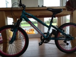 Muddyfox girls mountain bike