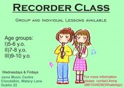 Recorder Classes