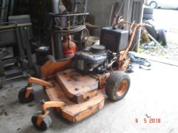 Scag Zero Turn Mower Commercial Rough Grass