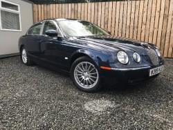 2007 JAGUAR S TYPE 3.0 V6 SE AUTO very low miles and full years test