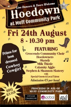 Hoedown @ Muff Community Park