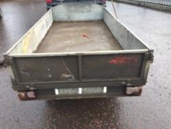 8'x4'galvanised car trailer