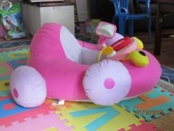 soft pink car