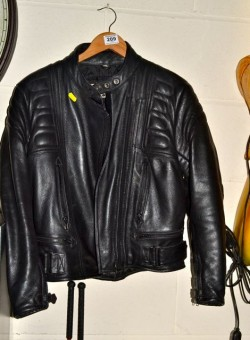 As new Ladies motor bike leather  jacket