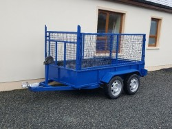 Builders trailer 8ft 6inch x 4ft 6inch