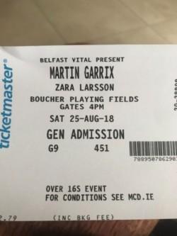 Martin Garrix Tennets Vital