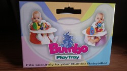 BumboPlay Tray for seat for sale - Brand new - never used