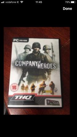 Company of hero's pc