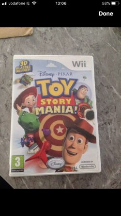 Toy story wii game