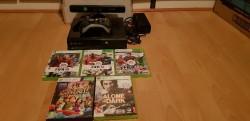 Xbox 360 E 500gb and games